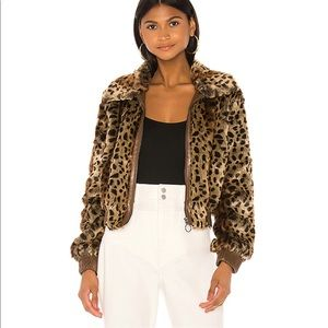 ASTR Faux Fur Jacket